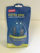 Cat5e Plus Snagless Networking Cable, 50 Foot