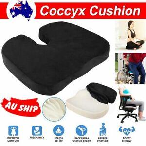 Coccyx Orthopedic Memory Foam Seat Cushion Seat Lumbar Pain Relief Car Office x1