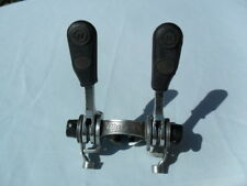 Huret Gear Change Levers/Shifters. Vintage Levers c/w Black Hoods 1970's Peugeot