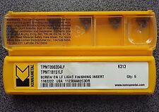 WENDEPLATTEN 5 x KENNAMETAL TPMT 090204LF K313 WENDESCHNEIDPLATTEN INSERTS