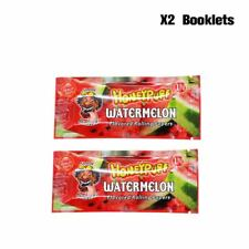 HONEYPUFF 2 Packs Watermelon Flavored Slow Burning Rolling Papers