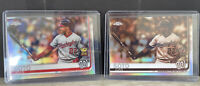 Juan Soto 2019 Topps Chrome Sepia, Refractor And Base 2nd Year Rookie Cup