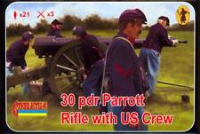 Strelets Models 1/72 30 PDR PARROT RIFLE with UNION CREW Figure Set