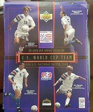 UPPER DECK 1992-93 U S WORLD CUP SOCCER TEAM 8X10 TRIBUTE PHOTO SER #