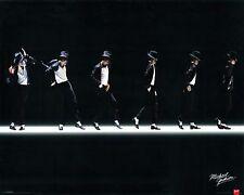 "MICHAEL JACKSON POSTER PRINT MOONWALK DANCE ON STAGE  24""x36"" - NEW"