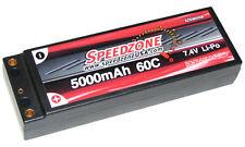 5000mAh 60C Hard Case Lipo Battery 2S 7.4V 1/10 HPI Traxxas Stampede E-Max USA
