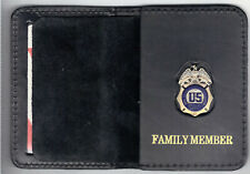 DEA Family Member Wallet w/1-Inch Antique Mini Pin from the Quantico Gift Shop