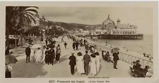 Giletta, France, Nice, Promenade des Anglais vintage print, France Tirage citr