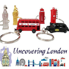 6 Keychain London Icon Sight Key Ring Souvenir Bus UK British Tourist Gift Tags