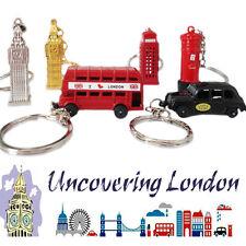 6* Mini London Icon Keyrings Key Chain Souvenirs GB England Gift Die Cast Metal