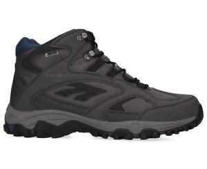 Hi-Tec Men's Lima Sport Waterproof Shoe - Charcoal/Grey/ Majolica Blue UK7/US8
