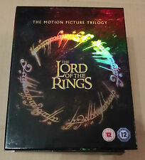 The Lord of the Rings Trilogy  (Good)(UK Blu Ray) Free Postage