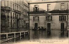 CPA PARIS INONDE 152 Rues de Lille et Bellechasse (561782)