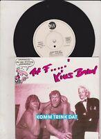 The F...kius Band Komm Trink Dat Vinyl Single 7inch NEAR MINT East West Reco