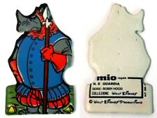 Figurina Morbida MIO Walt Disney - N.8 Guardia Serie Robin Hood cm 6,8 x 4