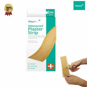CUT TO SIZE STRIP PLASTERS Large Long First Aid Adhesive Fabric/Waterproof Roll