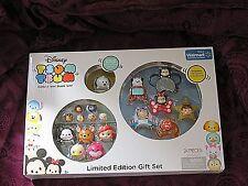 Tsum Tsum Limited Edition Gift Set~Black & White Pluto, 18 Figures~US Seller