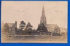 1912 POSTCARD ALL SAINTS THORNTON HAUGH WIRRAL MERSEYSIDE NR HESWALL BEBINGTON