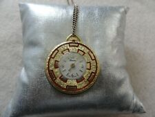 Pretty Swiss Made Lucerne Vintage Mechanical Wind Up Necklace Pendant Watch