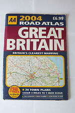 AA Road Atlas 2004 – Great Britain    £5.99