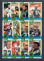 1990 Topps Green Bay Packers TEAM SET + Traded