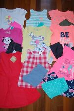 NWT Girls 3T Huge Spring Summer 18 Piece Lot Sets Outfits Dress Pjs  RV $238