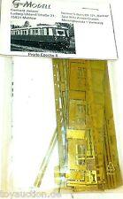 BR 125 BANCHIERE EP2 S FERROVIA ottone Kit di costruzione G modello MAHLOW 1:160