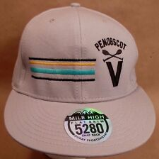 Penobscot Maine Hat Cap Snapback WhiteWater Rafting  USA Embroidery Unisex New