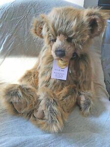 Charlie Bears WILLIAM V Plush Bear 2012 Ltd Edition
