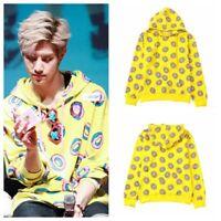 KPOP GOT7 Mark Just Right Donut Cap Hoodie EXO Sweatershirt BTS Jung Kook Coat