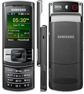 SAMSUNG C3050 SLIDE MOBILE PHONE-UNLOCKED WITH NEW CHARGAR, BATTARY AND WARRANTY