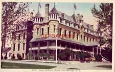 STATE SOLDIERS' HOME, HOT SPRINGS, S. D.