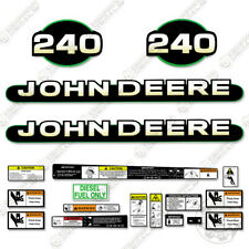 John Deere 240 Skid Steer Decal Kit Equipment Decals