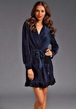 Juicy Couture Regal Navy Velour Robe Medium