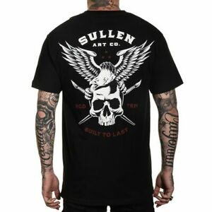 Sullen Art Collective Lincoln Eagle Standard Fit Mens T-Shirt MMA UFC Tattoo