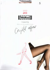Wolford Crystal Affair Tights 14745 - Gobi/Golden Sands - Small - RRP £110 - New