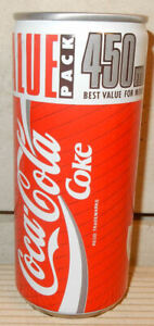COCA COLA Value Pack can from SOUTH AFRICA (450ml)