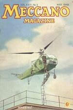 1946 MAY 33576  Meccano Magazine Cover Picture  HOVERING !