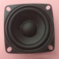"""2pcs 2"""" inch 4Ohm 3W Full Range Audio Speaker Stereo Woofer Loudspeaker 52mm DH"""