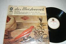 REGER Hiller Variations LP KONWITSCHNY Germany Electrola STE-91 344 EX NM