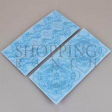 Strumento di goffratura Flower Texture per Cupcake Torta Fondente stampa