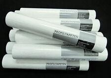 18087-10) 10 Rollen Vinyltapeten feine Putzstruktur Tapete weiss für Wand +Decke