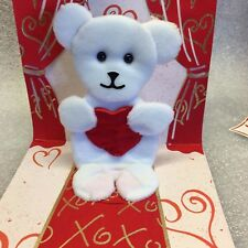 PopShots 3D Pop-Up Greeting Card With Mailing Envelope - Teddy Bear 1 Pack