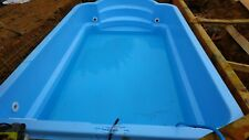 More details for polyester fibreglass swimming pool 4,7 x 2,6 x 1,0m in-ground
