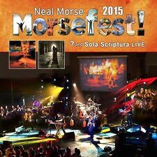 NEAL MORSE - MORSEFEST 2015 SOLA SCRIPTURAL AND ? LIVE   2 BLU-RAY NEW+