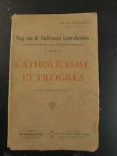 Catholicisme et Progrès - 1933