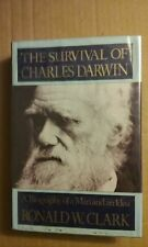 The Survival of Charles Darwin by Ronald W Clark 1984 Hardcover GC 1st Edition