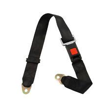 Adjustable Seat Belt Car Truck Lap Belt Universal 2 Point Safety Travel