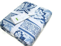 Pottery Barn Marcel Tile Reversible King Cal King Duvet Cover Two Euro Shams New