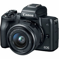 Nuevo Canon EOS M50 15-45mm IS STM lens - Black Negro